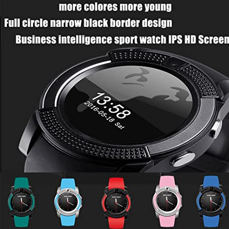 Bluetooth Smartwatch,TURNMEON® Reloj Inteligente Pulsera ...