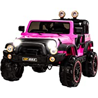 fdb045458 Uenjoy Kids Ride on Cars 12V Children s Electric Cars Motorized Cars for  Kids with Remote Control