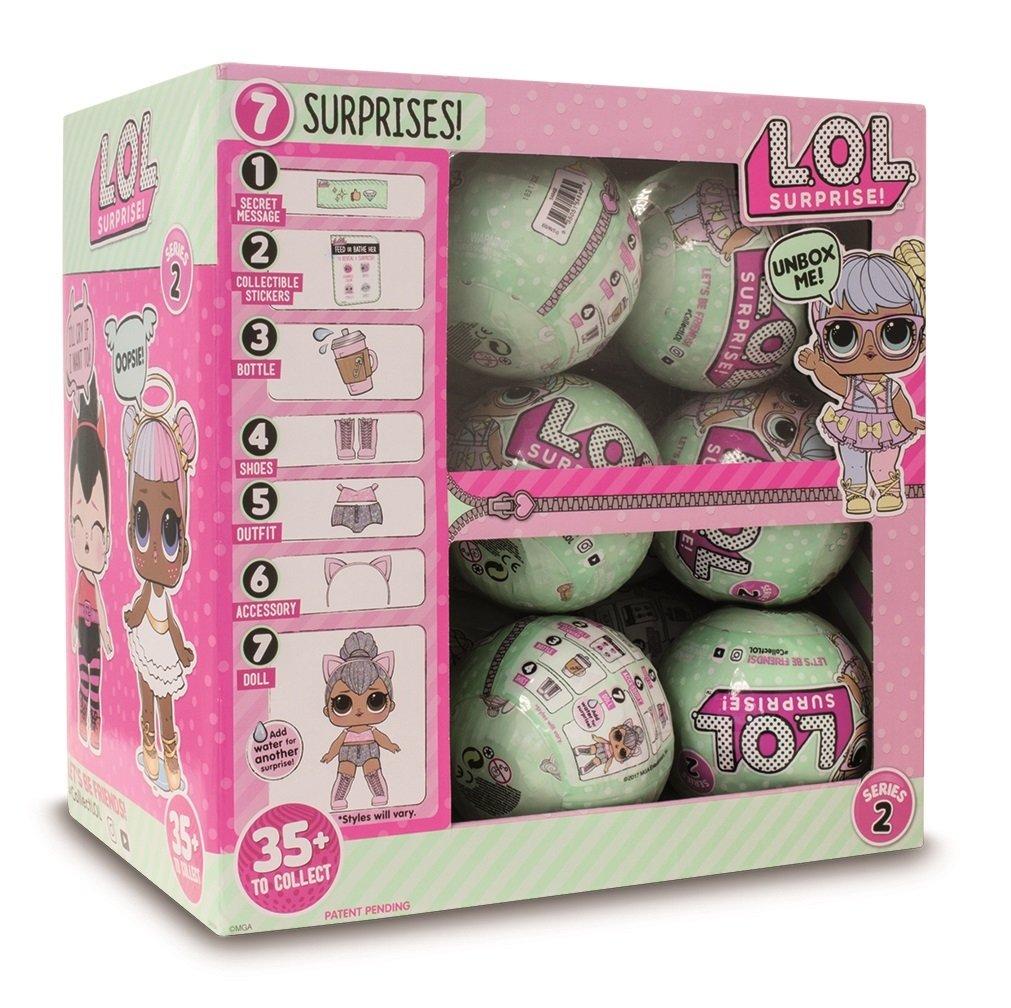 Lol Surprise Serie 2 Sfera Con Mini Doll A Sorpresa 7 Livelli