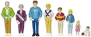 Marvel Pretend Play Family - Caucasian Dolls - Set of 8