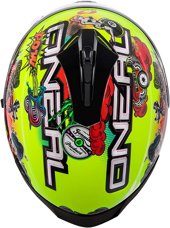 Oneal Challenger Helmet Crank Neon Yellow Motorradhelm MX-Motocross