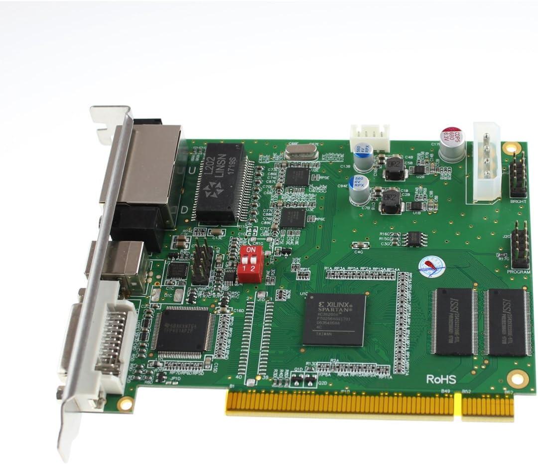 Linsn ts802d Sending Card RGB Video Display Controller ts802 Replace linsn Control System ts801 ts801d Sending linsn Card