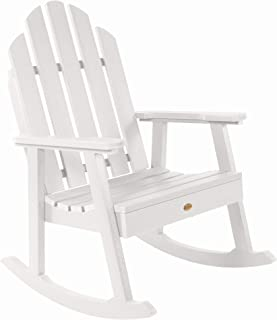 product image for highwood AD-RKCH3-WHE Classic Westport Garden Rocking Chair, White