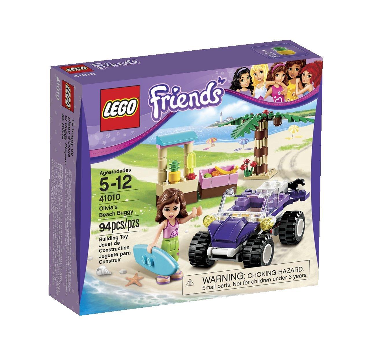 Amazoncom Lego Friends Olivias Beach Buggy 41010 Toys Games