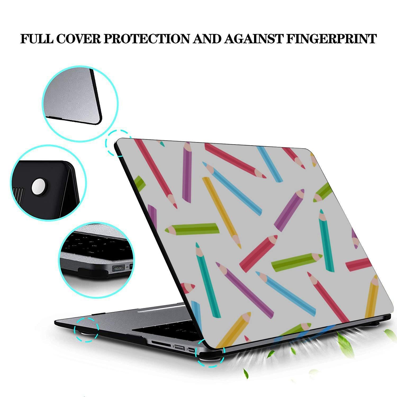Cover MacBook Air 13 School Creative Art Fashion Pen Writing Plastic Hard Shell Compatible Mac Air 11 Pro 13 15 MacBook Air Hard Case Protection for MacBook 2016-2019 Version
