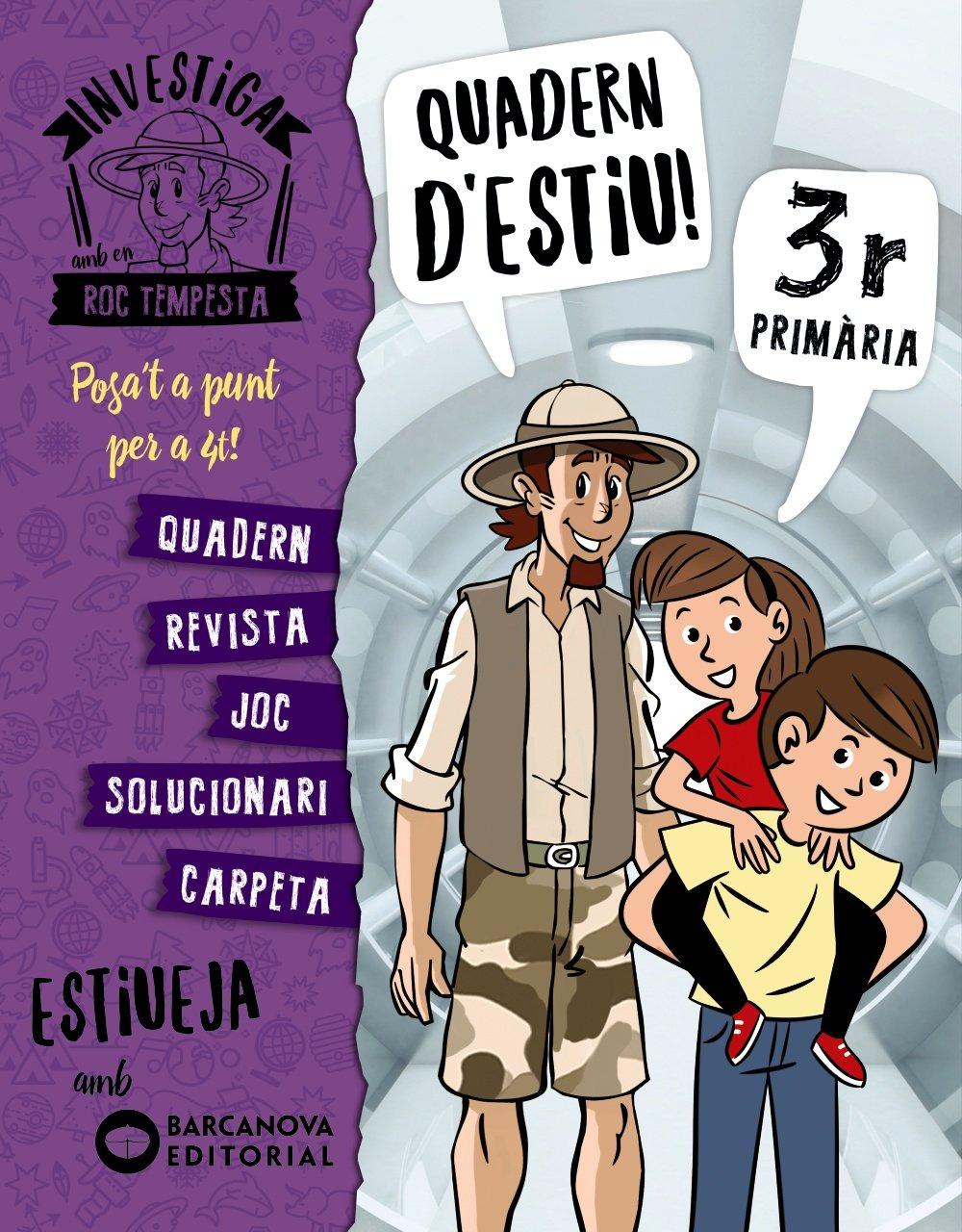 Investiga amb Roc Tempesta 3. Estiueja amb Barcanova: Amazon.es: Núria  Murillo, Ximo Cerdà, Òscar Sardà, Marie Nigot: Libros