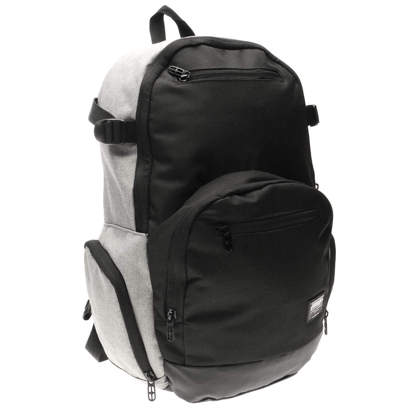 Elevate - Grey Charcoal No Fear Backpacks Rucksack Backpack Bag Daypack
