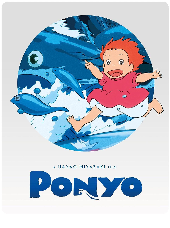 Ponyo [Edizione: Regno Unito] [Reino Unido] [Blu-ray]: Amazon.es: Cine y Series TV
