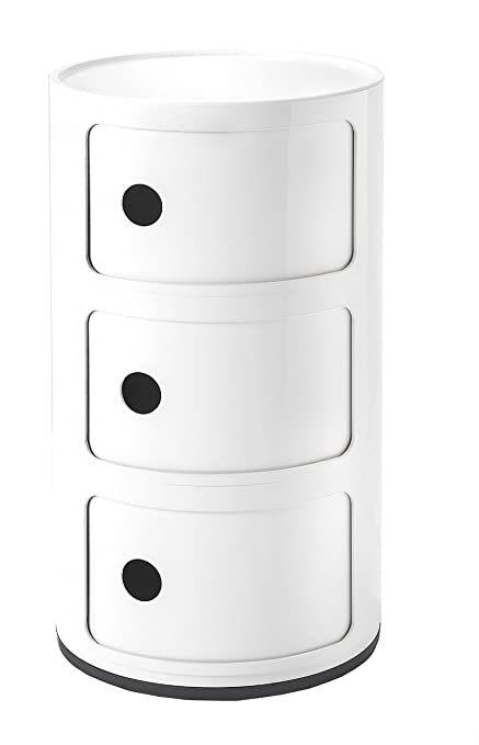 Kartell Componibili Drawer, Pack Of 1, White