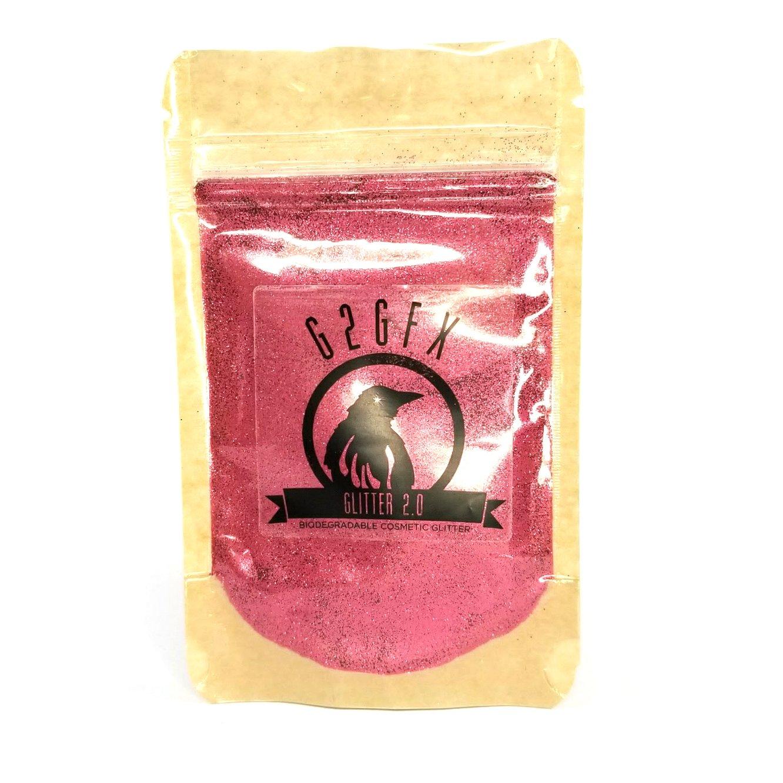 G2GFX Biodegradable Glitter (30g Resealable Pouch, Its Not Cranberry Sauce!)