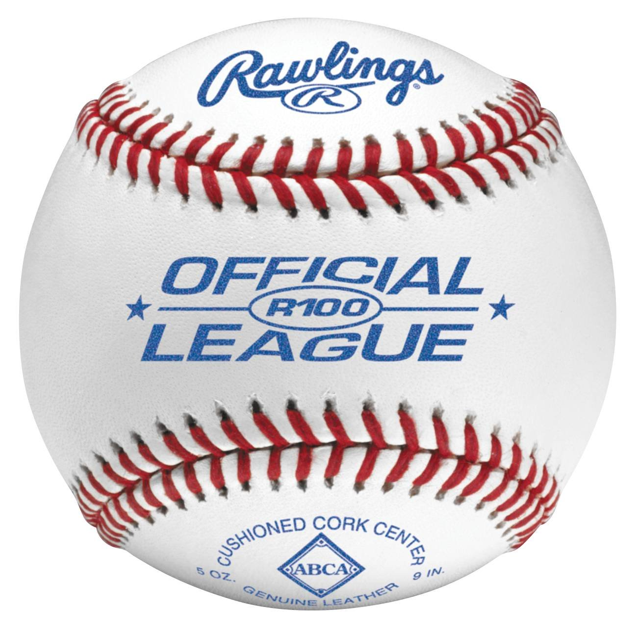 Rawlings ABCA Stamped Official League Baseball, Pack of 12 R100