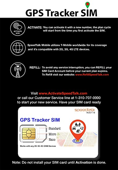 Carte Sim Cdiscount Activation.Gps Tracker Triple Cut Sim Card Starter Kit No Contract Universal Sim Standard Micro Nano For 2g 3g 4g Devices Global Coverage