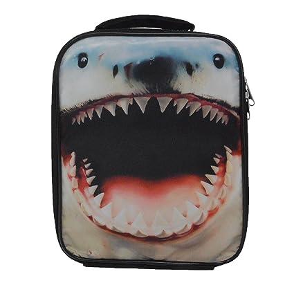 5f75f9975297 Amazon.com: Nailhead Shark Insulated Shark Insulated Lunch Bag by ...