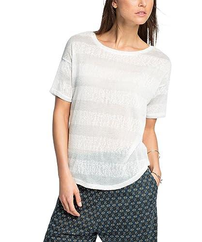 edc by Esprit 026cc1k021 – Striped, T-Shirt Donna