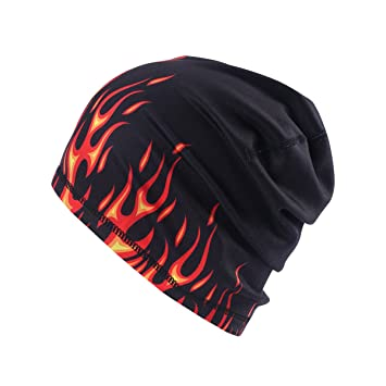 c114f4c0544e5 Bonnet sport Hasagei pour homme - Noir - Pour l'hiver - Pour le vélo ...