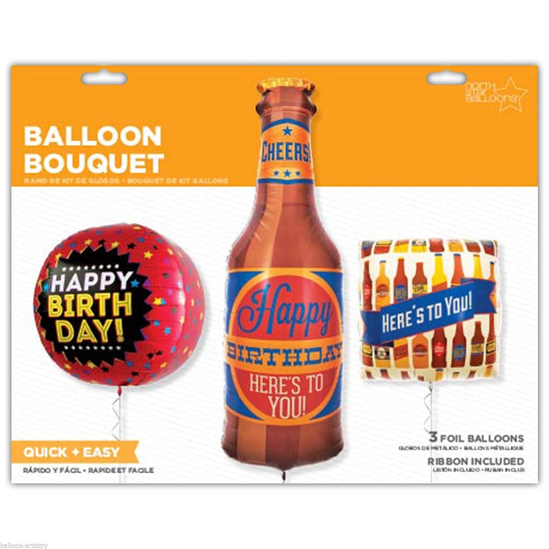 Composición globos cervezas: Amazon.es: Ropa y accesorios