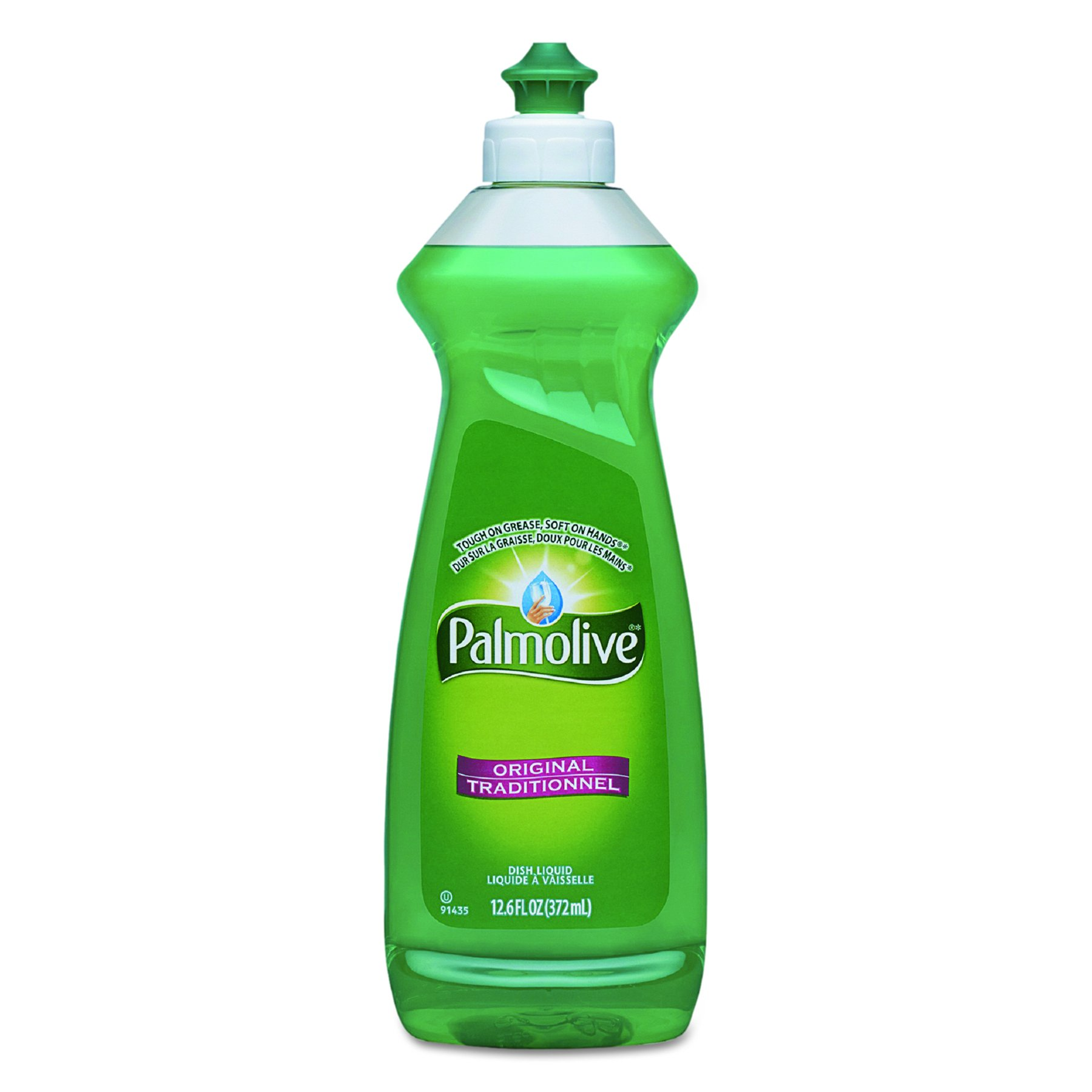Palmolive CPC 46413 Dishwashing Liquid, Original Scent, 12.6 oz. Bottle (Pack of 20) by Palmolive