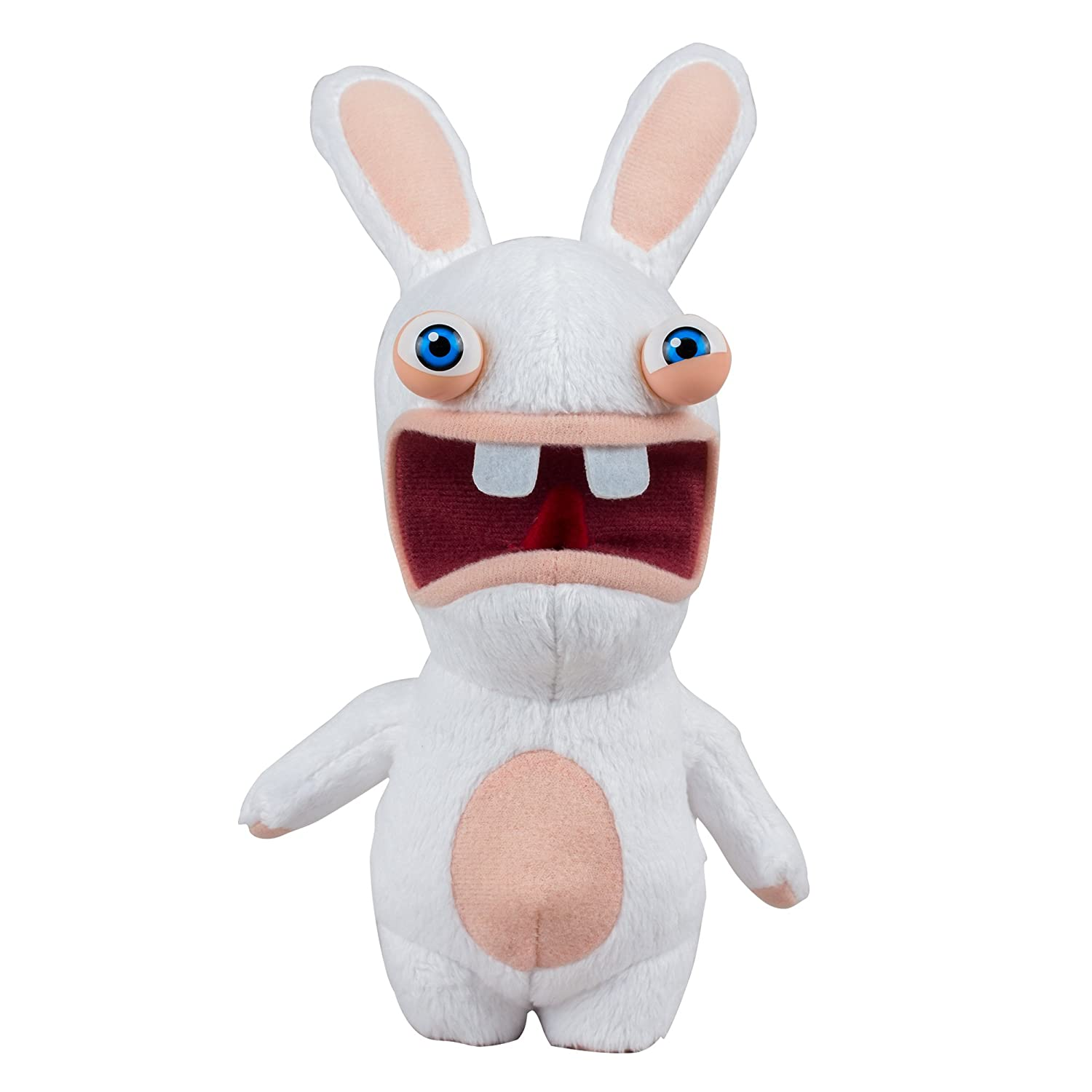 Amazon.com: McFarlane Toys Rabbids Series 1 Plush with Sound Raving Rabbid Figure: Toys & Games