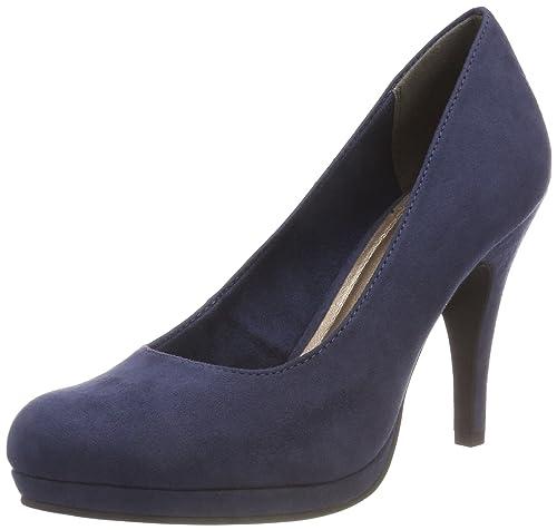 Tamaris 22473, Zapatos de Tacón para Mujer, Azul (Navy), 39 EU