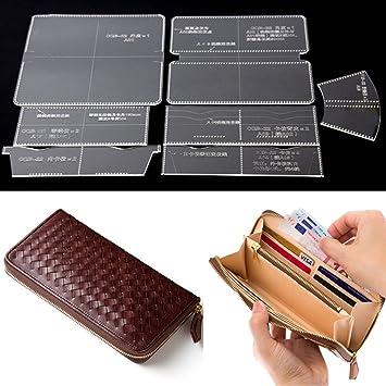 Llavero acrílico para manualidades, piel, diseño de cartera ...
