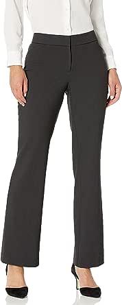 Lark & Ro Amazon Brand Women's Bootcut Trouser Pant: Curvy Fit