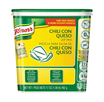 Knorr Chili Con Queso Dip Mix, 1.06 Pound - 6 per pack - 1 each