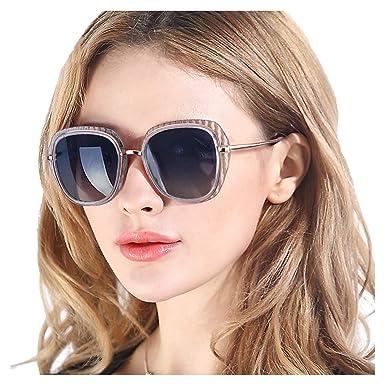 Pdnlds Gafas de Sol Mujer Polarizadas Cuadradas Marco Grande ...
