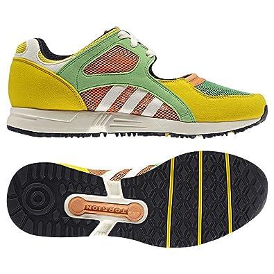 Adidas Eqt Racing Yellow Green & Peach