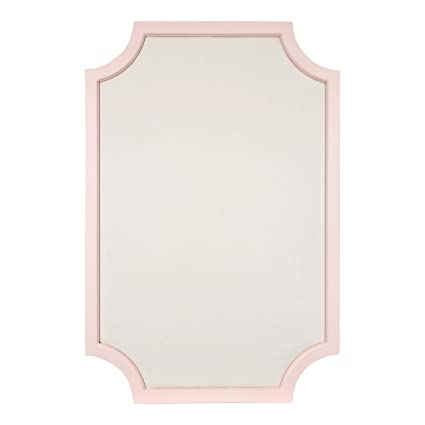 Amazon.com: Kate and Laurel Hogan Wood Framed Fabric Pinboard with ...