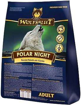 WOLFSBLUT - Pienso Polar Night, carne de reno + calabaza, para perros adultos
