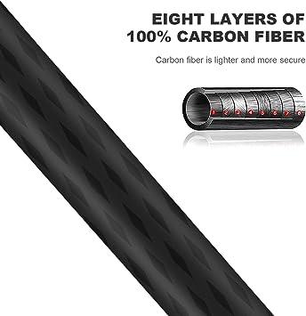 K&F Concept Trípode Fibra de Carbono TC3134 Trípode Monopié ...