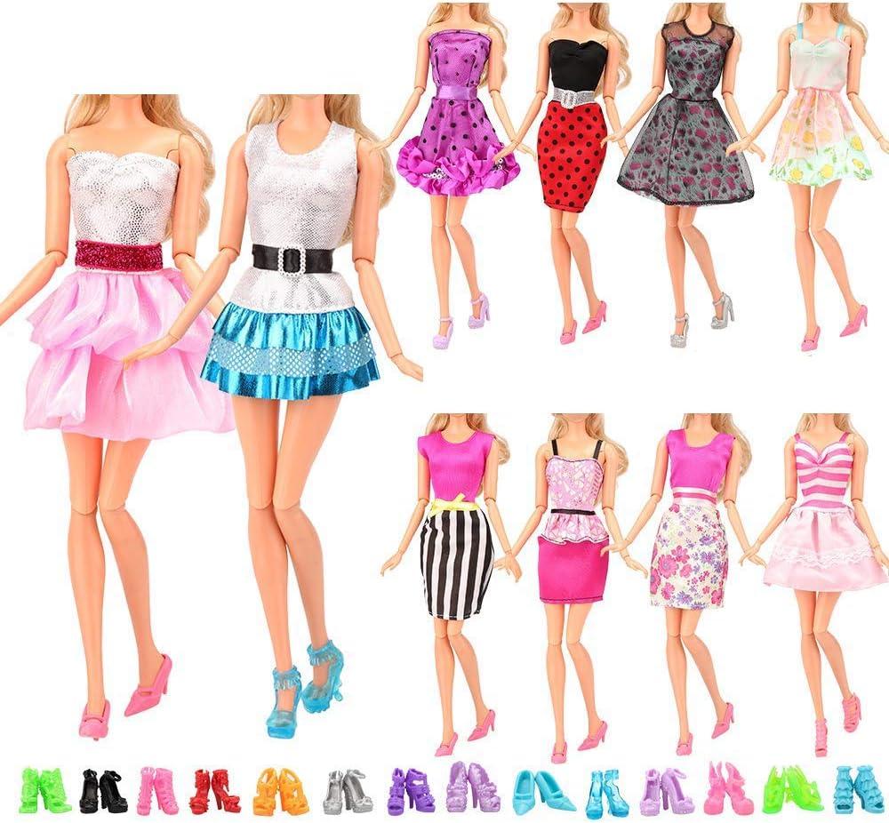 Handmade mini dress for doll