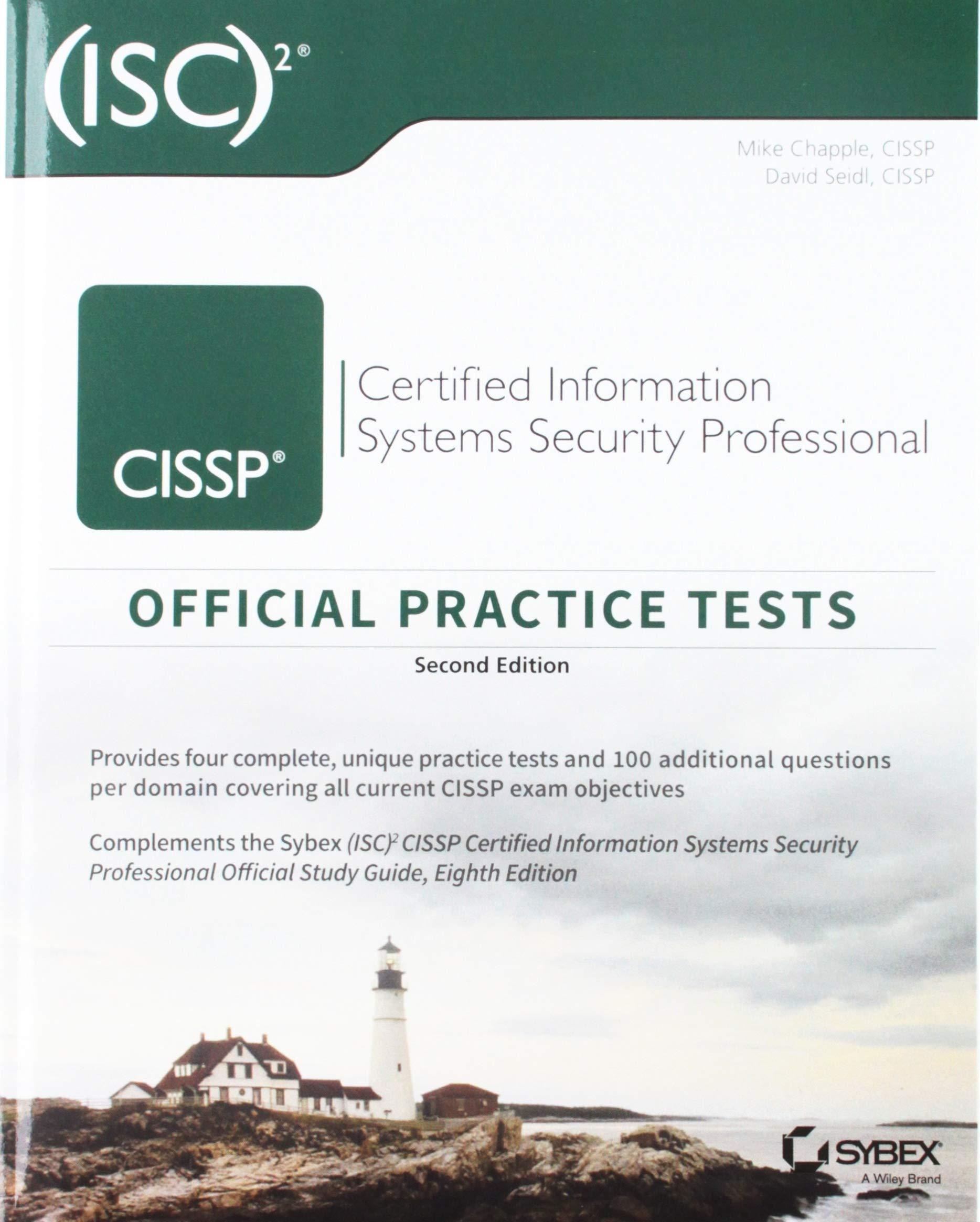 Cissp Official Isc2 Practice Tests Amazon Mike Chapple David
