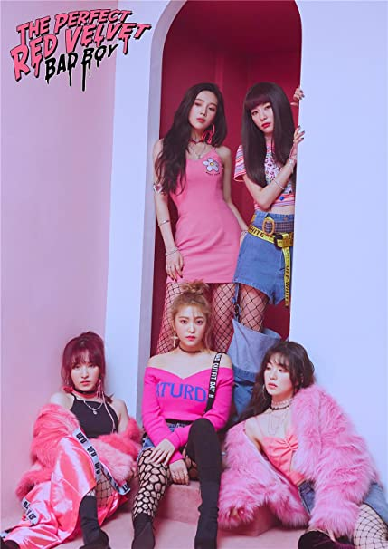 Fanstown Kpop RED Velvet Poster The Perfect RED Velvet 16 5 x 11 7 inch A3  Size Thicken Coated Paper (G17)