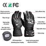 winna Heated Gloves for Women and Men, Battery