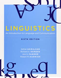 Amazon linguistics an introduction to language and linguistics an introduction to language and communication 6th edition mit press fandeluxe Gallery