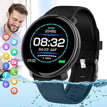 Peakfun Bluetooth Touch Screen Sports Fitness Watch