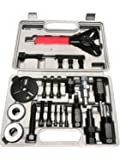 PMD Products 23pc A/C Deluxe Automotive Compressor Clutch Hub Remover Installer Puller Tool w/ Spanner Air Conditioner AC