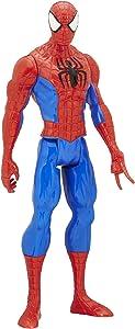 Marvel Spider-Man Vs. The Sinister 6 Titan Hero Series Spider-Man Figure 12 Inches