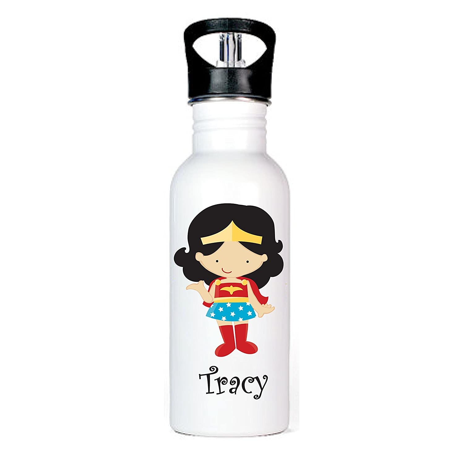 Supergirl Aluminum Water Bottle by Ooh La La Printables