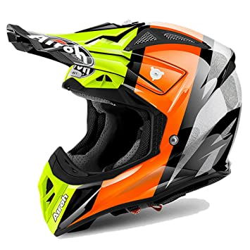 Airoh Aviator 2.2 Off Road Enduro MX – Casco de motocross, color Revolve amarillo