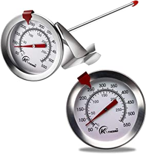 KT THERMO Deep Fry Thermometer With Instant Read,Dial Thermometer,6