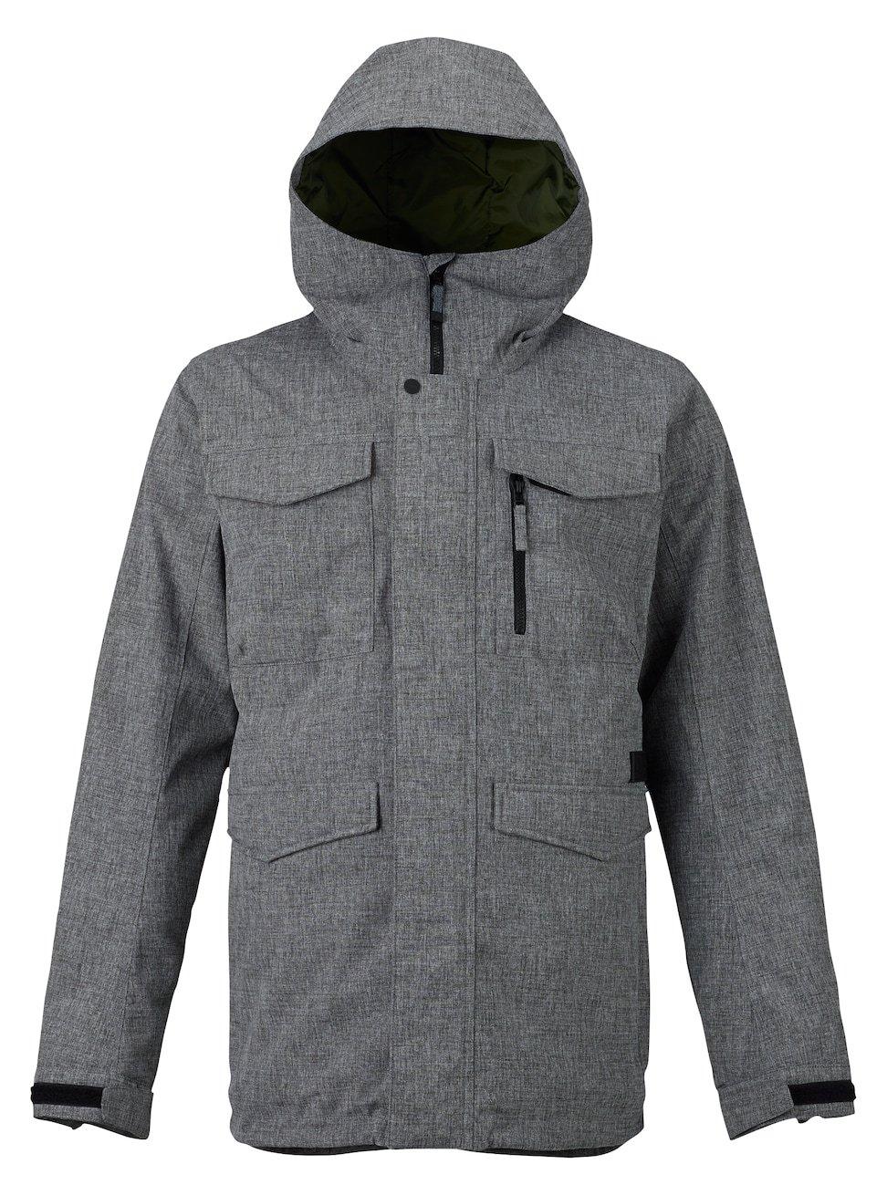 Burton Men's Covert Jacket, Bog Heather, X-Small