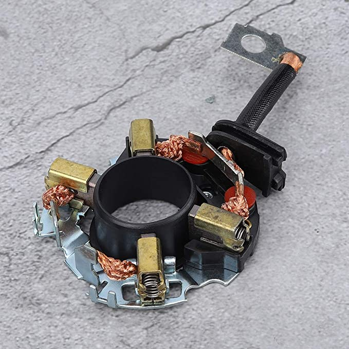 support de brosse en carbone de d/émarreur de moteur professionnel ensemble de balais de carbone de d/émarreur durable pour Teana Bluebird Cefiro Versa Tiida Support de brosse en carbone