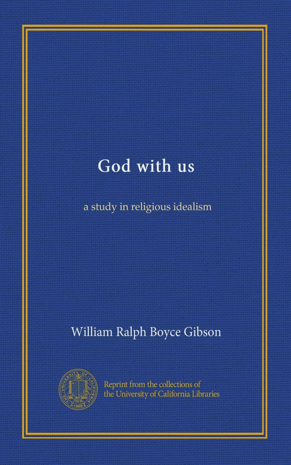 Download God with us: a study in religious idealism pdf