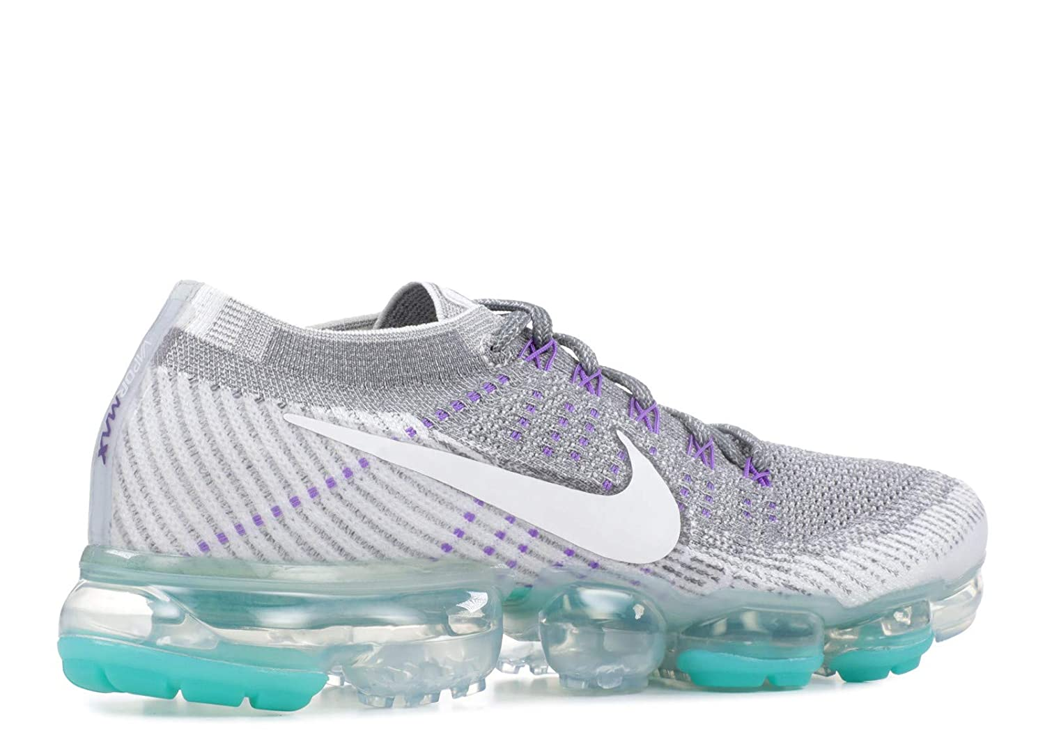 959b280e03e4 Amazon.com   NIKE Wmns Air Vapormax Flyknit Running Sneakers Women Cool Grey White-Pure  Platinum New 922914-002 - 9   Sports   Outdoors