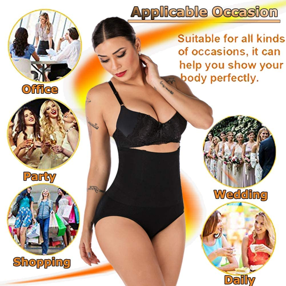 DODOING Womens High Waist C-Section Recovery Slimming Underwear Tummy Control Panties