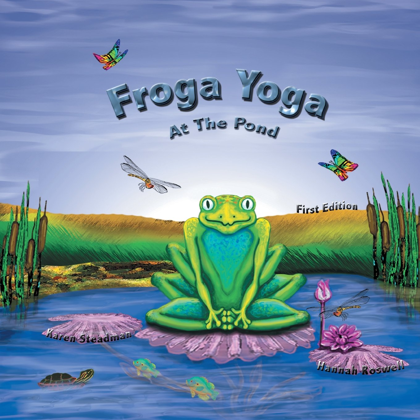 Download Froga Yoga, at the Pond: First Edition pdf epub