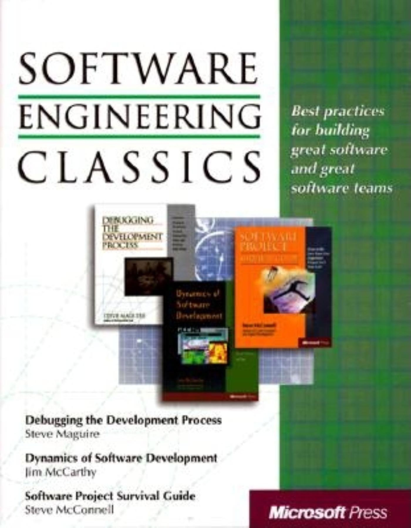 ... Process/ Dynamics of Software Development (Programming/General): Steve  Maguire, Steve McConnell, Michele McCarthy: 0790145059710: Amazon.com: Books
