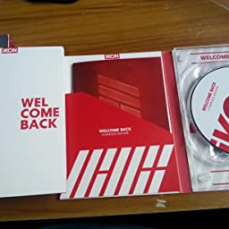 Amazon Co Jp Welcome Back Complete Edition 2cd Dvd Photo Book スマプラ 初回生産限定盤 音楽